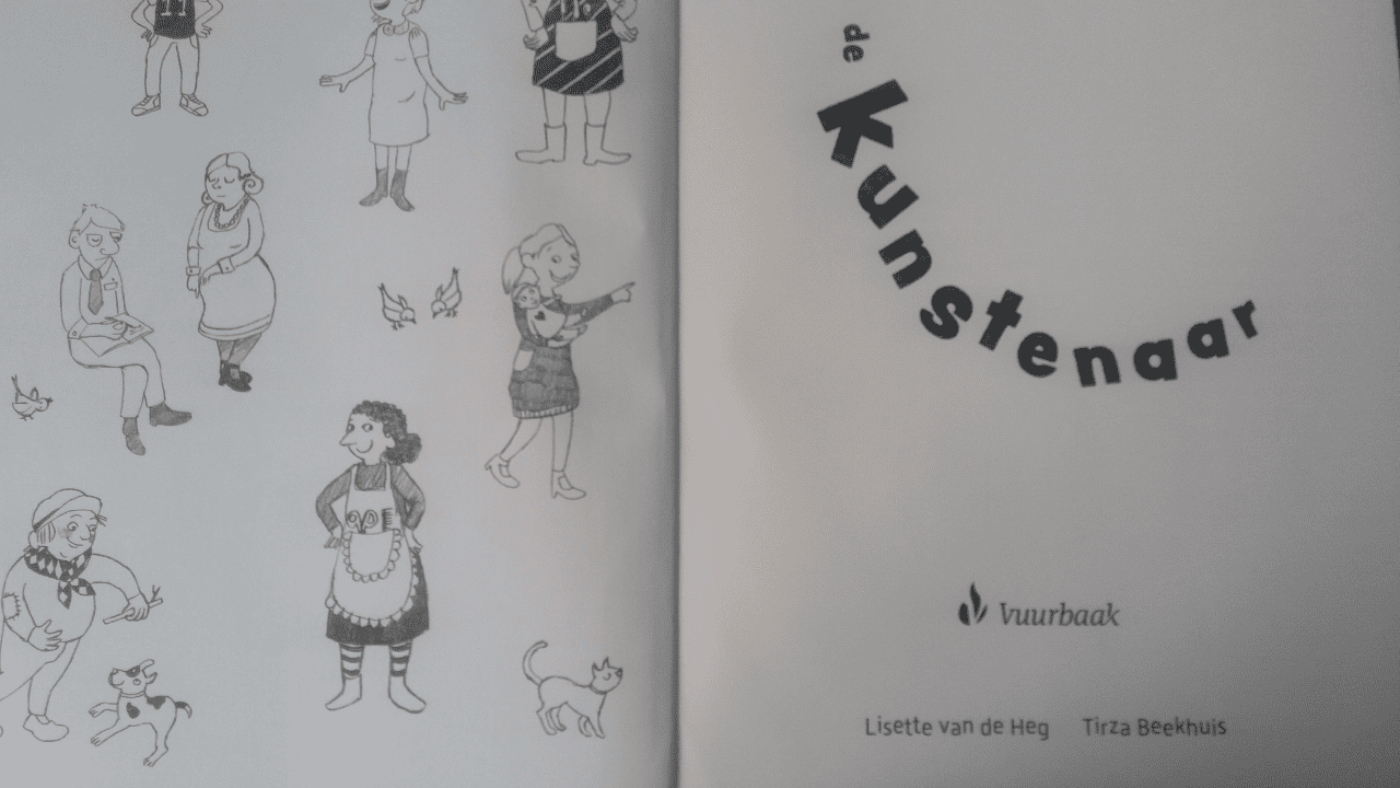 De Kunstenaar: prentenboek voor volwassenen en kinderen